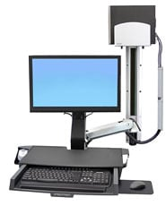 Ergotron 45 270 026 Styleview 174 Sit Stand Combo System With