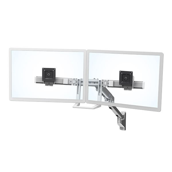 Ergotron 45 479 026 Hx Wall Dual Monitor Arm Polished