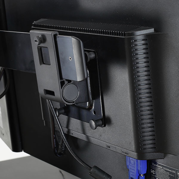 Ergotron 98 062 200 Dual Monitor Tilt Pivot Kit