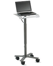 The Peanut® Mobile Cart for Laptops