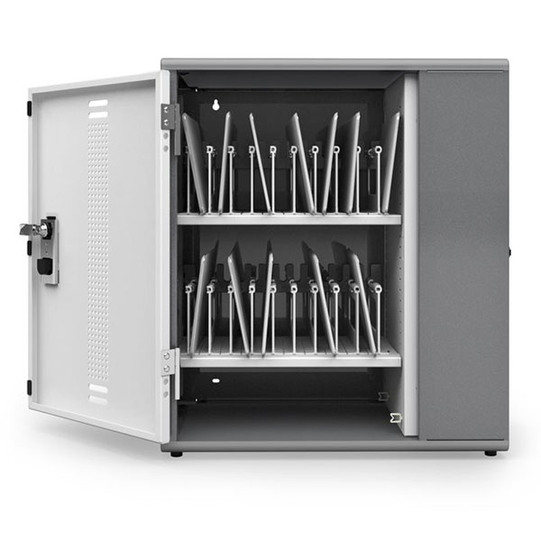 Ergotron Yescabgmpw Yes20 Charging Cabinet For Tablets