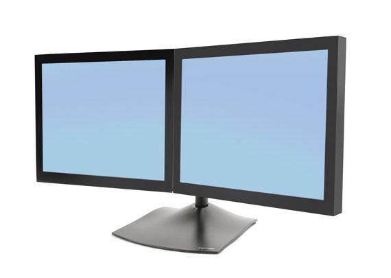 Ergotron 33 322 200 Ds100 Dual Monitor Stand