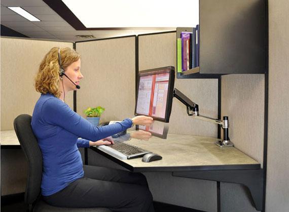 Ergotron 45241026 LX Desk Mount LCD Monitor Arm