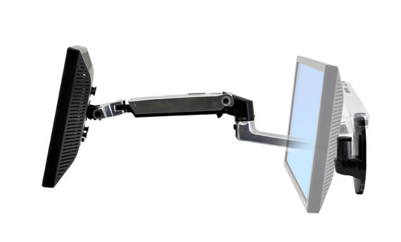 Ergotron 45 243 026 Lx Wall Mount Monitor Arm