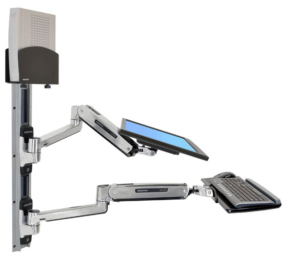 Ergotron 45 359 026 Lx Sit Stand Wall Mount System