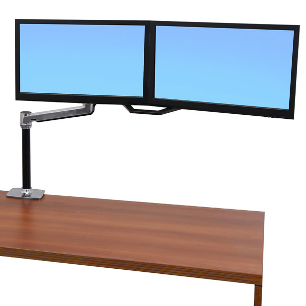 desk ebay is lx stand loading arm sit lcd ergotron mount image itm