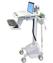 StyleView® Laptop Cart, LiFe Powered