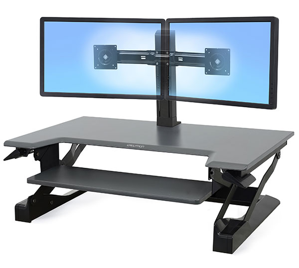 Ergotron 33 397 085 Workfit T Adjustable Height Standing Desk