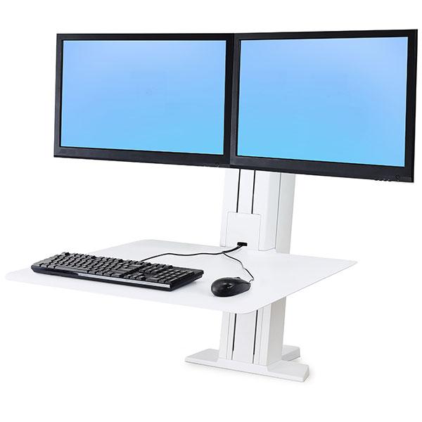 Ergotron 33 407 062 Workfit Sr Dual Standing Desk Workstation