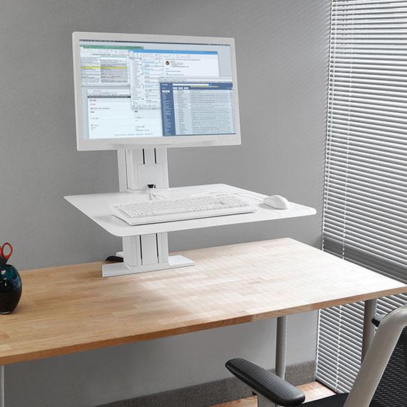 Ergotron 33 415 062 Workfit Sr 1 Monitor Sit Stand