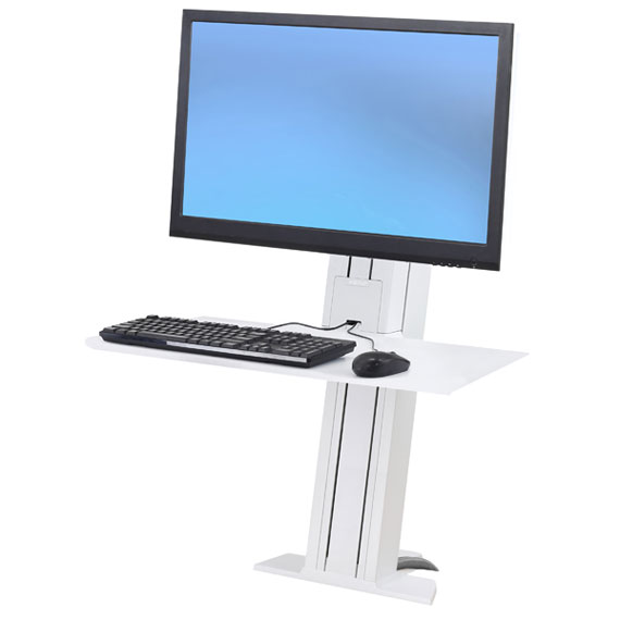 Ergotron 33 421 062 Workfit Sr Standing Desk Workstation