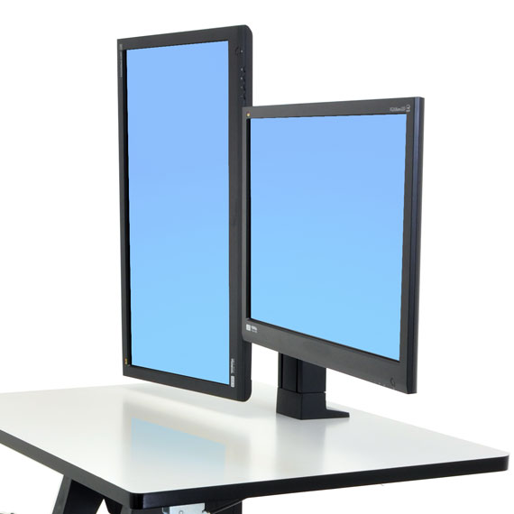 Ergotron 97 904 Workfit Dual Monitor Kit