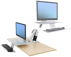 desk attachment design papers portable cole standing